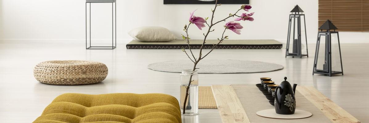 Le futon permet un excellent soutien de la colonne vertébrale.